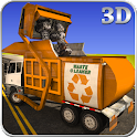 Garbage Truck City Cleaner icon