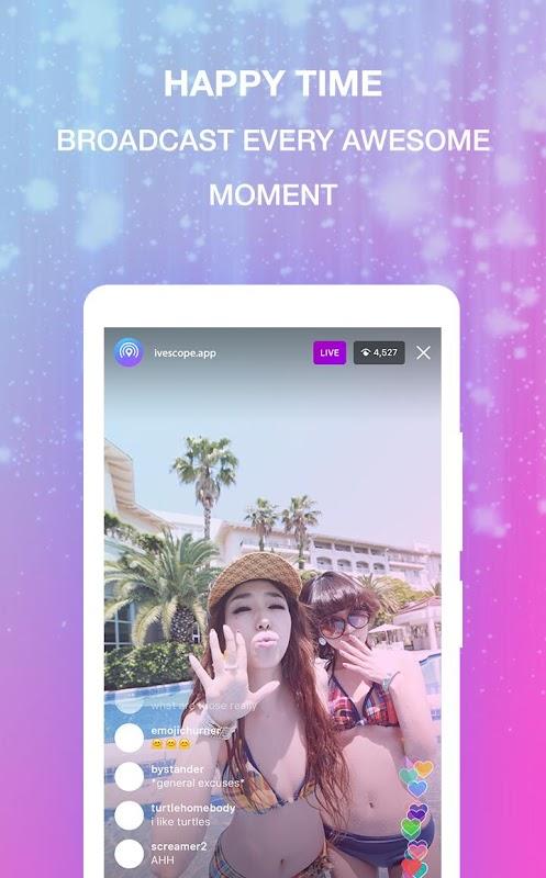 Live Streaming - LiveScope screenshots