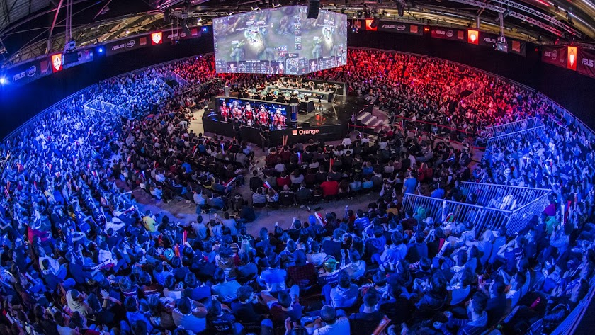 Final del torneo 'Gamergy' celebrado en el IFEMAde Madrid en junio. LVP