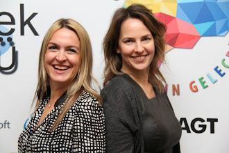 Photo: Soldan sağa: Burçin Girit, Anne Skare Nielsen