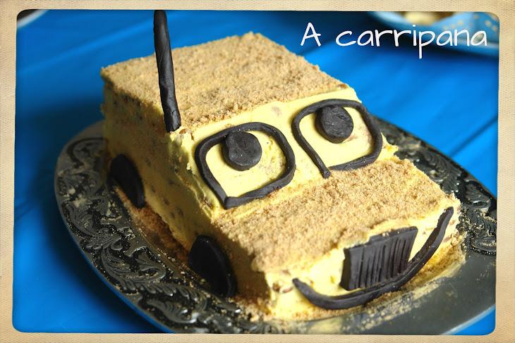 Coffee Cookie Cake
