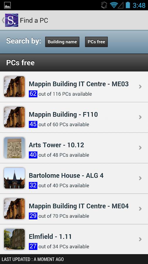 iSheffield - screenshot