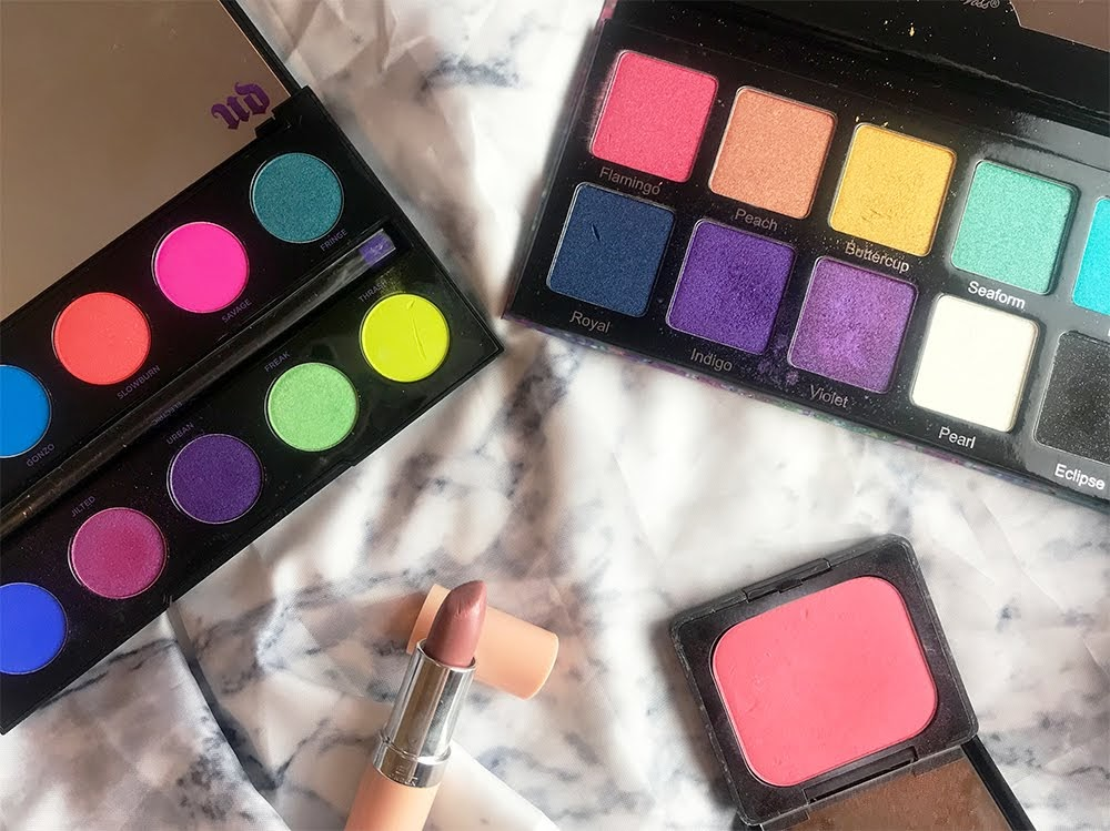 Makeup Kit Eyeshadow Palettes Urban Decay Violet Voss Rimmel Kat Von D