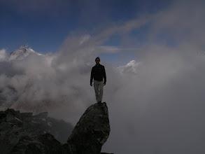Photo: Above the Aletsch Glacier