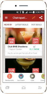 KhauGaliDeals-Restaurant Deals- screenshot thumbnail