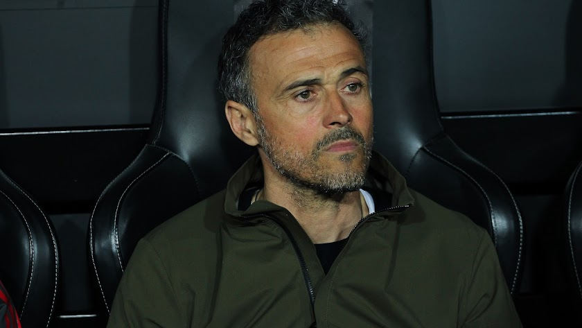 Luis Enrique Martínez, ex seleccionador nacional de fútbol.