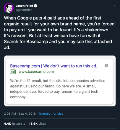 Every Company Branding in danger because of this Google policy 2