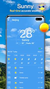 الطقس: توقعات الطقس الحية وعناصر الطقس 1