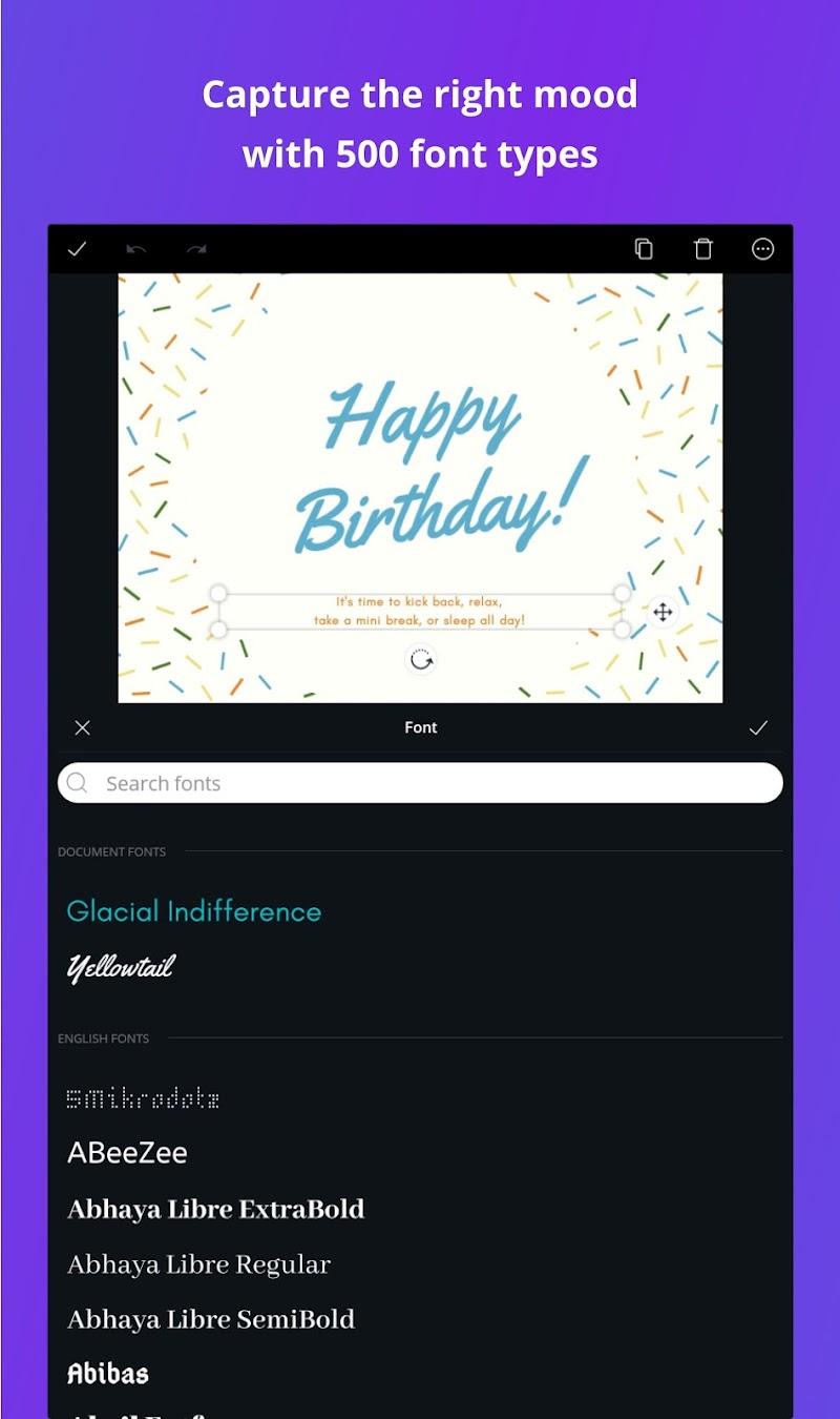 Canva: Graphic Design, Video, Collage & Logo Maker Screenshot 17