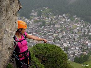 Photo: rainy ferrata above Zermatt