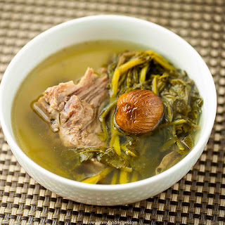Watercress Pork Bones Dates Soup.