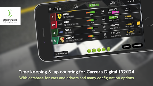Screenshot for SmartRace - Race Management for Carrera® Digital in Hong Kong Play Store