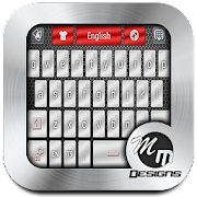 Free app Chrome Style GO Keyboard Theme Tablet