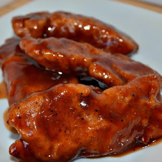 Slow Cooker Honey Barbecue Chicken Tenders.
