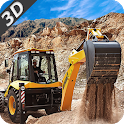 Dump & Loader Truck Free icon