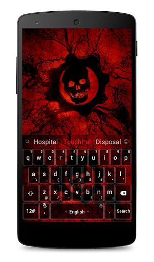 Skull Variation Keyboard Theme
