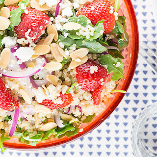 Strawberry, Arugula, and Quinoa Salad.
