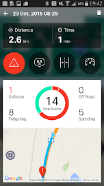 iOnRoad Augmented Driving Lite Screenshot 3