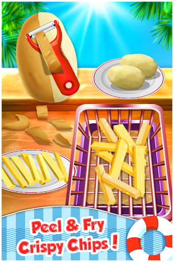 Fish N Chips - Kids Cooking Game filehippodl screenshot 8