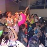 ParaPara dancing at Agefarre 2015 in Ageha in Tokyo, Tokyo, Japan