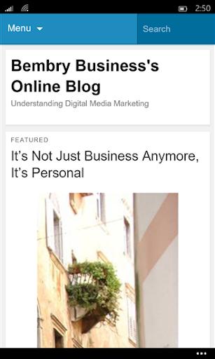 Bembry Digital Media Blog
