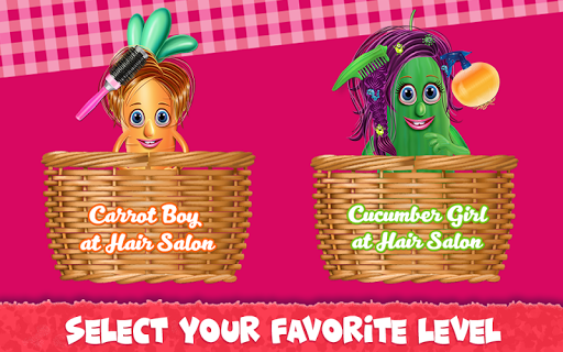 Vegetables at Hair Salon Igre (APK) brezplačno prenesete za Android/PC/Windows screenshot
