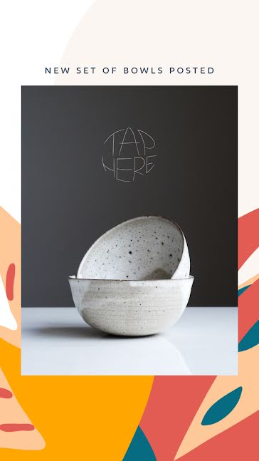 New Set of Bowls - Facebook Story Template