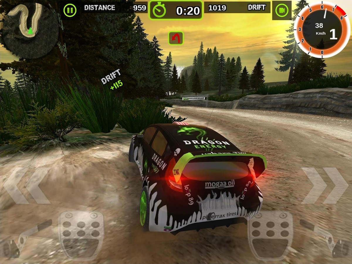 Rally Racer Dirt- screenshot