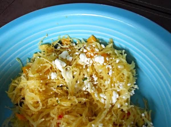 Colorful Spaghetti Squash Recipe