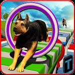 Stunt Dog Simulator 3D Icon