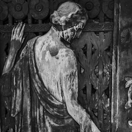 mausoleum door by Dale Youngkin - Buildings & Architecture Statues & Monuments ( graveyard, mausoleum, grave, tomb, memorial )