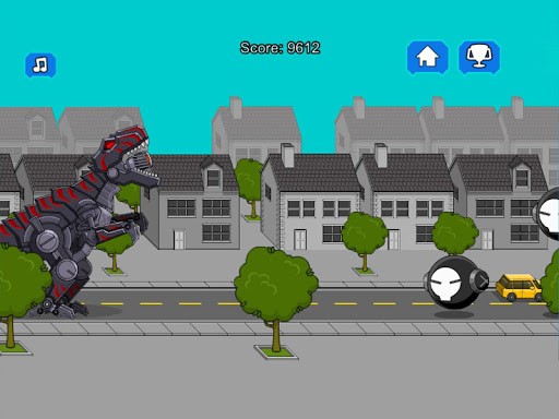 Robot Dinosaur Black T-Rex 2.5 screenshots 11