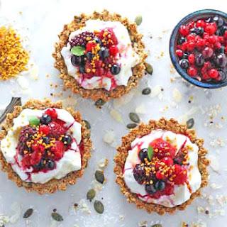 Yogurt Fruit And Granola Breakfast Recipes.