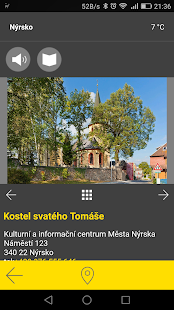 Nýrsko - audio tour- screenshot thumbnail