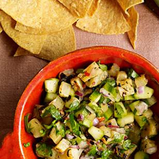 Grilled Pineapple Salsa with Cucumber (Salsa De Pina Asada Con Pepino Y Habanero) Recipe