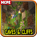 Caves And Cliffs Update Mod for Minecraft PE icon