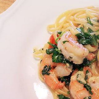 Garlic Butter Shrimp Pasta with White Wine