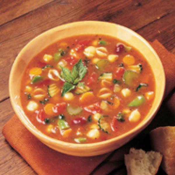 Great-aunt Lillian's Minestrone Soup Recipe
