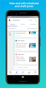 Hootsuite: Schedule Posts for Twitter & Instagram App Download For Android and iPhone 3