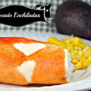 Avocado Enchiladas.