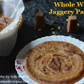 Whole Wheat Jaggery Pancake