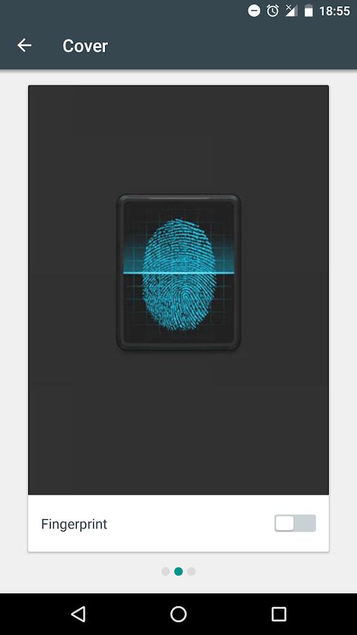 Screenshots of AppLock for iPhone