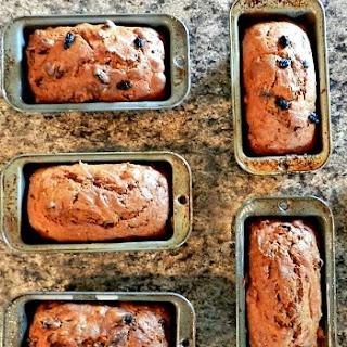 Pumpkin Raisin Walnut Sweet Bread Recipe