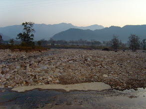 Photo: The Kosi River at Corbett National Park in Uttarranchal