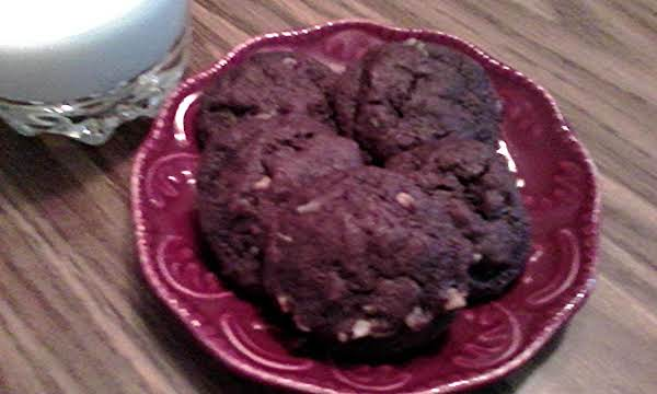 Double Chocolate Drop Cookies Recipe