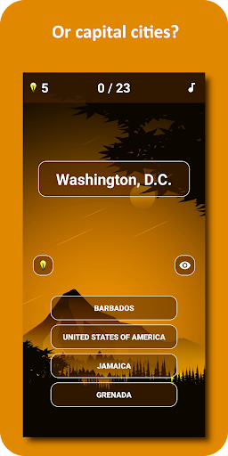 Country Flags and Capital Cities Quiz 1.0.11 screenshots 2