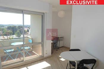 Appartement meublé 2 pièces 21,84 m2
