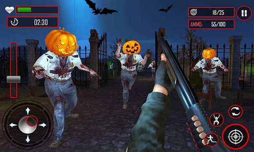 Zombie Night Party: FPS Shooting Game 2020 apkpoly screenshots 4
