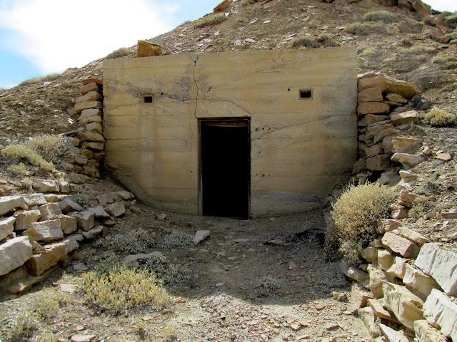 CCC explosives bunker
