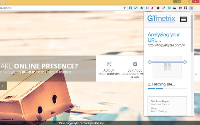 GTmetrix Analyzer Plugin